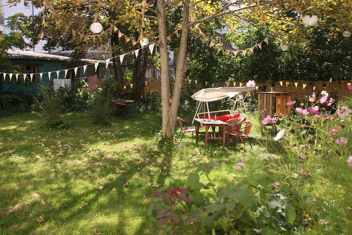 Hostel garten eden leipzig for Garten eden