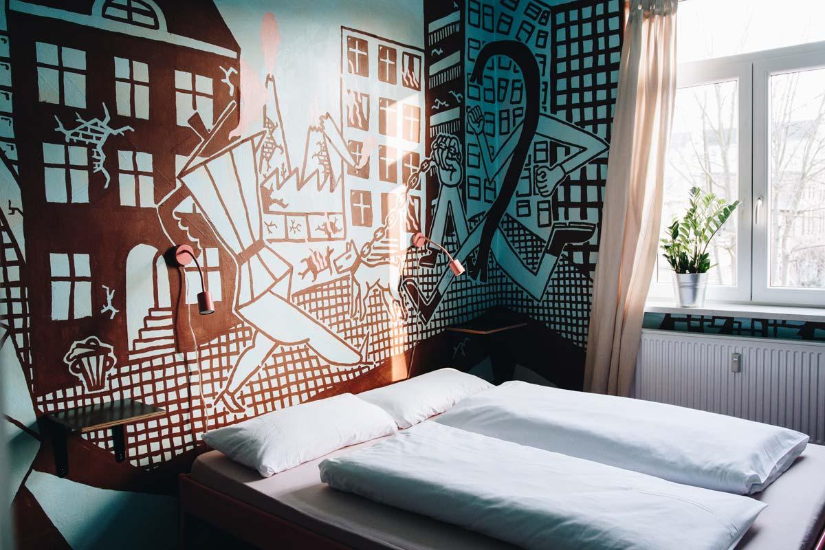 Eden Hostel Garden Leipzig